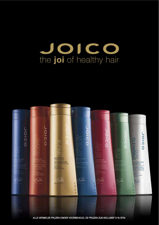 Prijslijst Joico